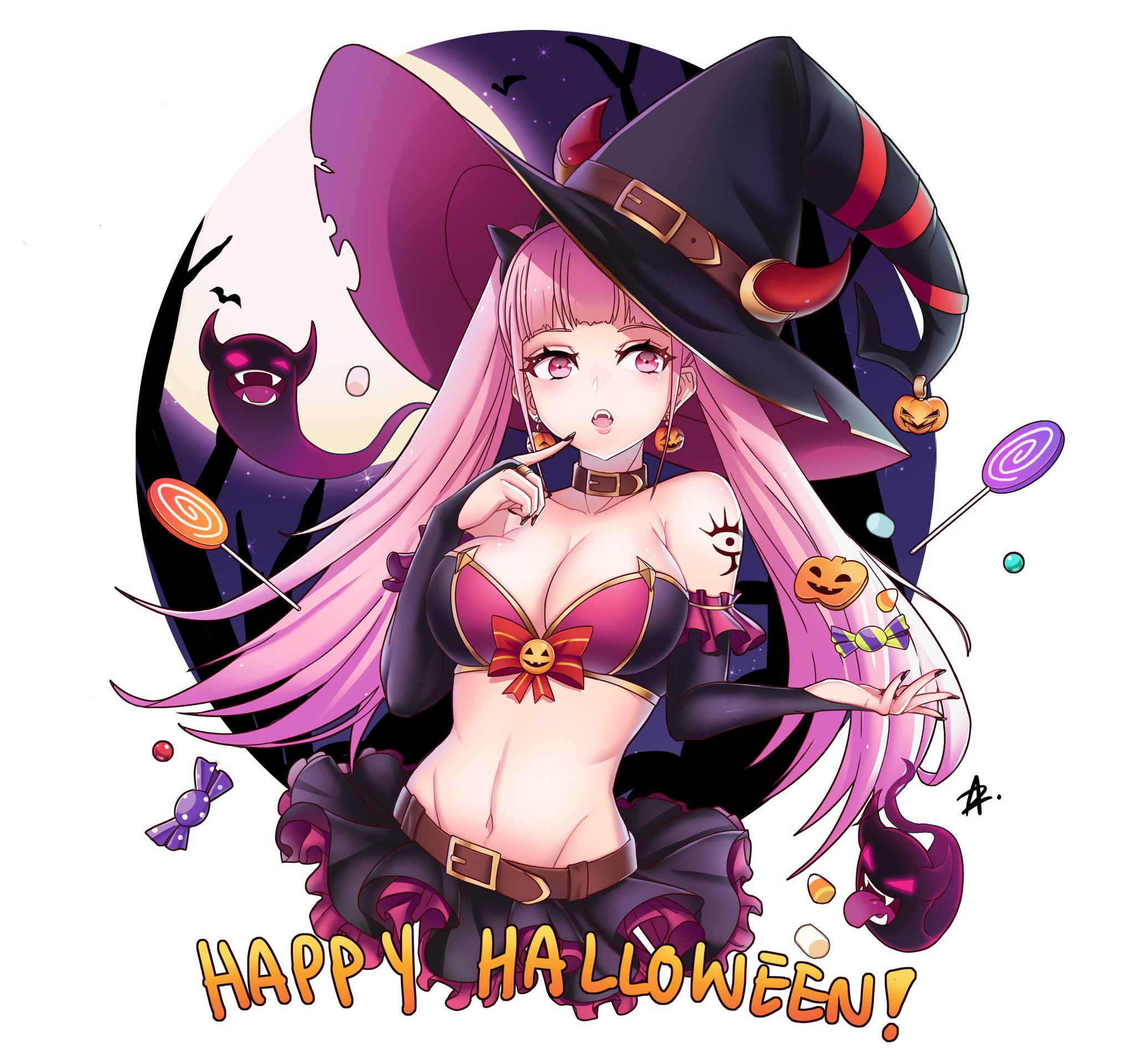 Bildergebnis für happy halloween anime girls lewd