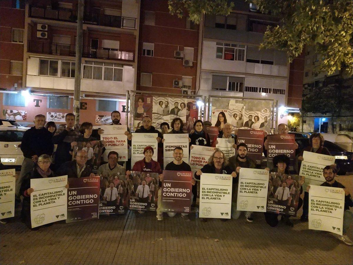 Foto cedida por Unidas Podemos Alcalá