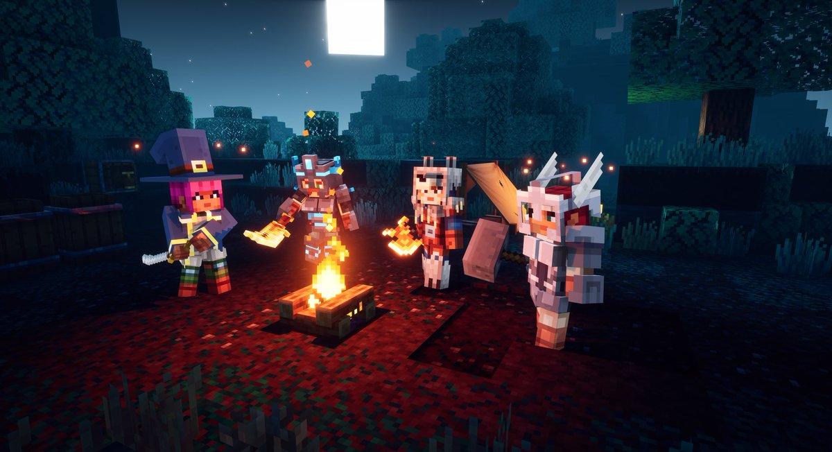 Minecraft Dungeons Dungeonsgame Twitter