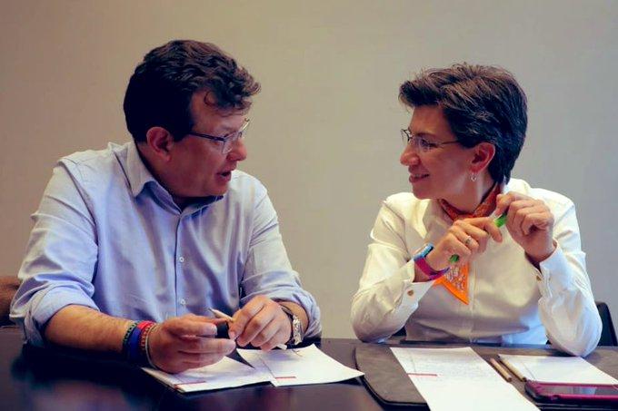 EIQB14gWsAEfIPL?format=jpg&name=small - Alcaldesa Claudia López sorprende con conciliadora visita a sus excontrincantes