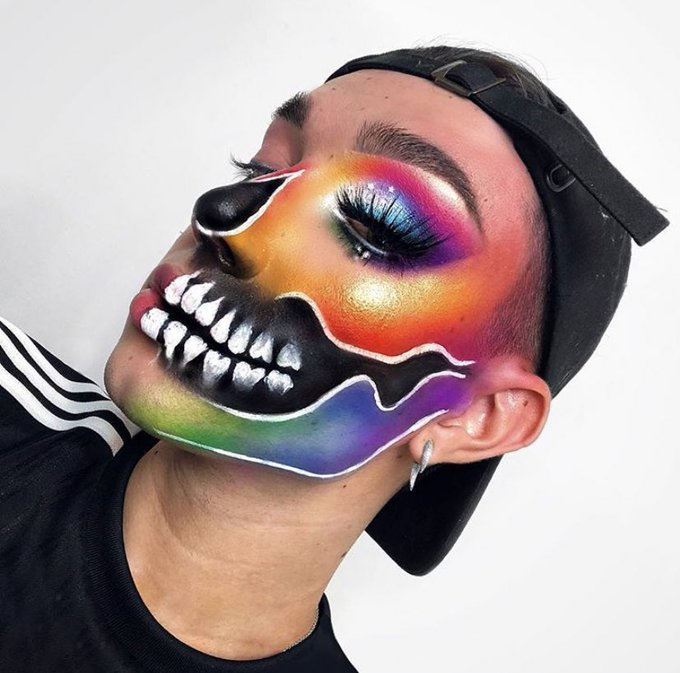 2 pic. sooo im the homie @jamescharles for halloween 🎃 https://t.co/eQJeBqNsoX
