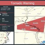 Image for the Tweet beginning: Tornado Warning including Ahoskie NC,