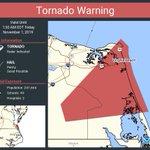 Image for the Tweet beginning: Tornado Warning including Virginia Beach