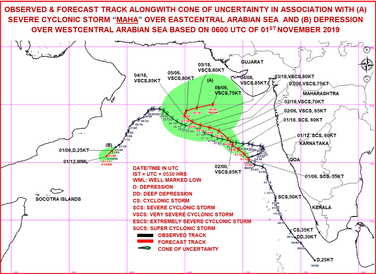 Storm Maha might hit Gujarat coast after November 6, the picture would be more clear after two days: Met Director