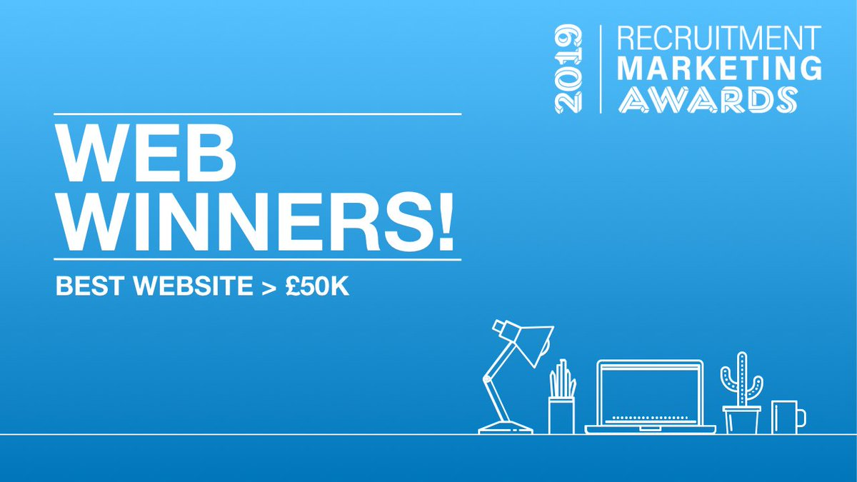 🏆 What a Wonderful Website Win! We're very proud of our second #RMAs19 award this week, this one for the incredible team at @Primarkjobs and their @TalentBrewTech-powered careers website. #HRTech #RecTech #HR #Awards #Chuffed https://t.co/mWl405Ab0I