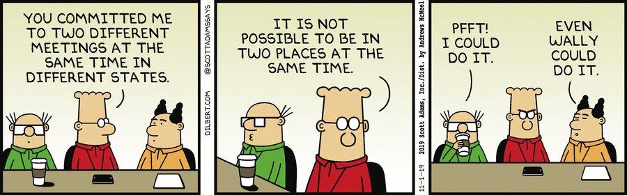 Dilbert on Twitter