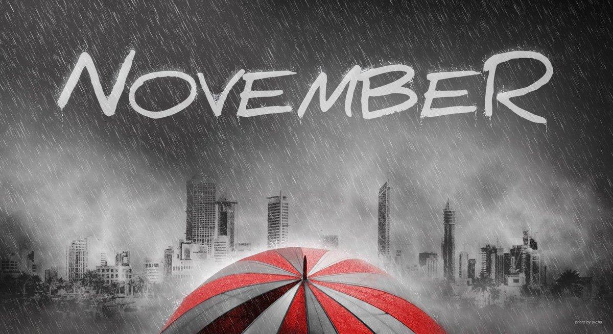 картинки с надписью ноябрь на рабочий стол тени