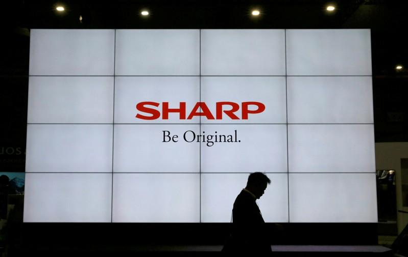 Japan's Sharp beats second-quarter profit expectations on laptop business