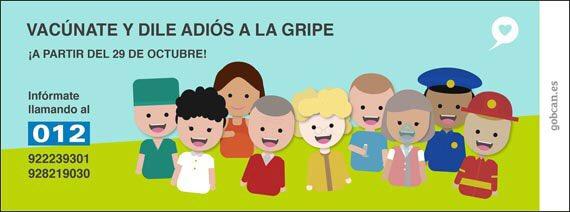 #ffPaciente a @SanidadGobCan Continuando con el apoyo a la #CampañaVacunal #VacunaGripe #AntiGripal #012 #CAP