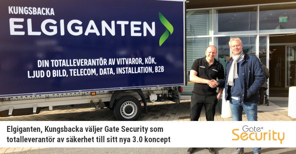 Elgiganten, Kungsbacka väljer Gate Security som totalleverantör av säkerhet till sitt nya 3.0 koncept https://t.co/Blej0k9kqL https://t.co/T6iMNQ6YIQ