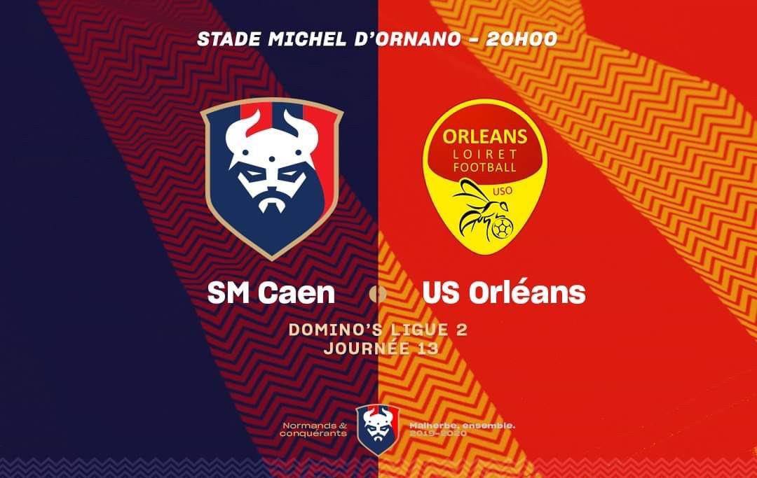 [13e journée de L2] SM Caen 2-1 US Orléans EIRyKPxXYAAKvFT