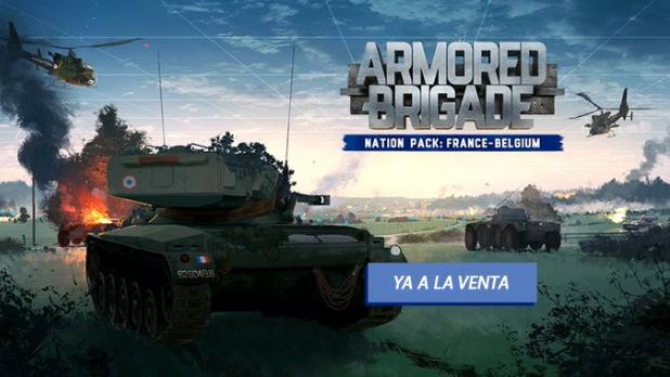 Armored Brigade Nation Pack. France - Belgium ya a la venta