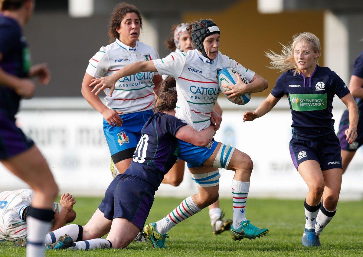 🎂 Tanti auguri a Elisa #Giordano, Azzurra numero 159, 37 caps #Italdonne 💙 #insieme #rugbypassioneitaliana