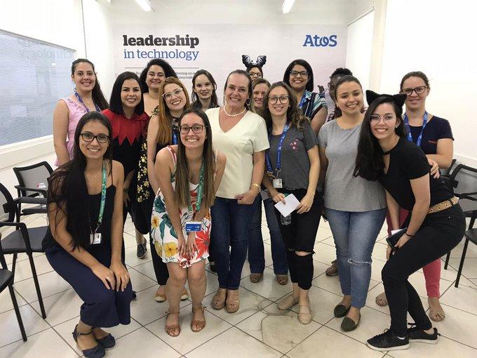Ontem rolou no escritório de Londrina um bate papo sobre empreendedorismo e empoderamento femin...