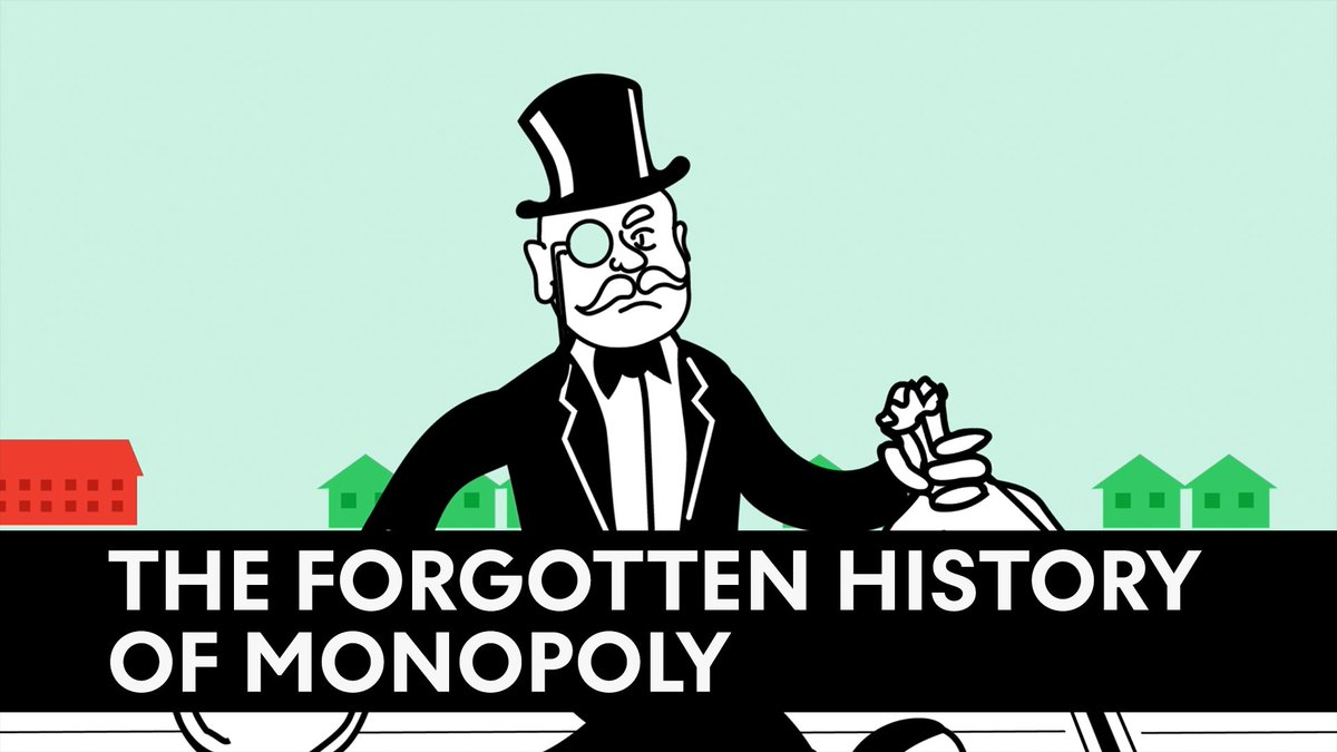 Did you know board game Monopoly was created by an anticapitalist?   This is the forgotten history of Monopoly: https://t.co/8dchcH0zRn