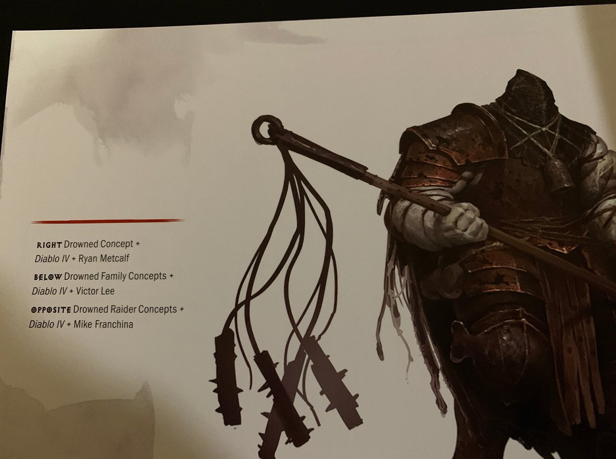 Diablo 4 Concept Art On Display In New Art Book That's On Sale At Amazon - GameSpot