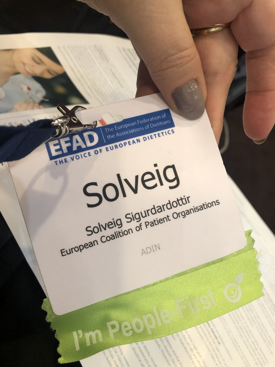 Are you also People First? 🙋♀️🙋♂️ #EFAD2019