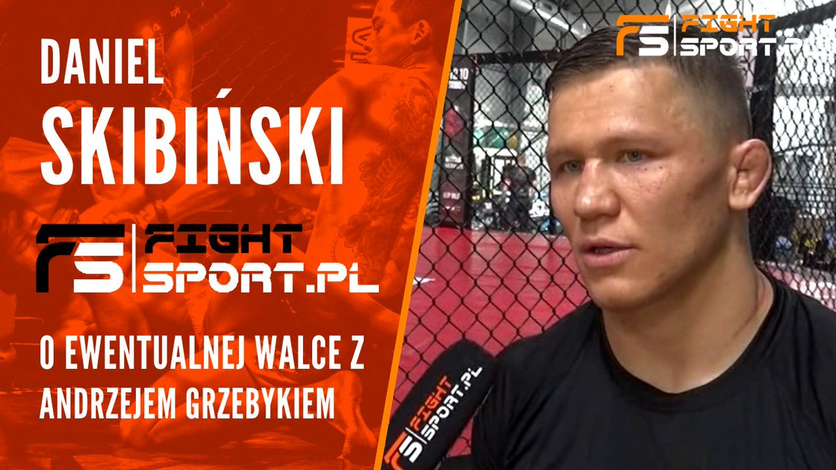 O 12:00 zapraszamy na premierę wywiadu!  Daniel Skibiński: Nie mam nic do Grzebyka, nie ukrywam, że moim celem jest UFC https://t.co/Wtsf5MlRYc @SkibaMMA @babilon_tomasz @ufc https://t.co/UxEJkSoWnG