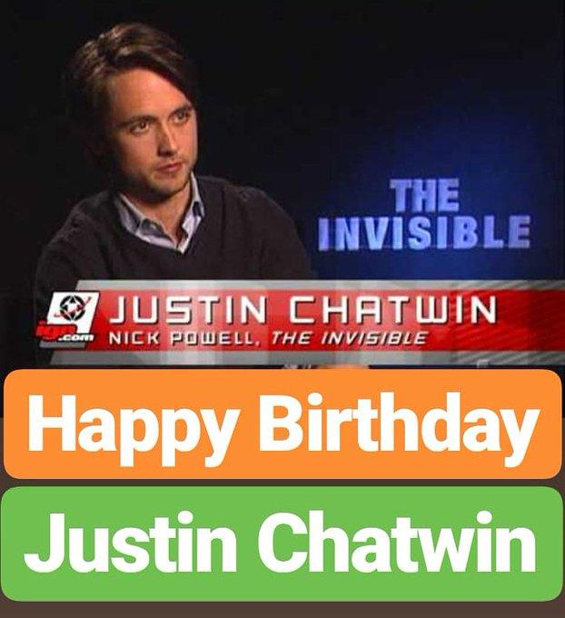 Happy Birthday  Justin Chatwin