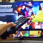 Image for the Tweet beginning: Digitalisierung: Streaming gewinnt, Fernsehen verliert.  @dvtm_ev