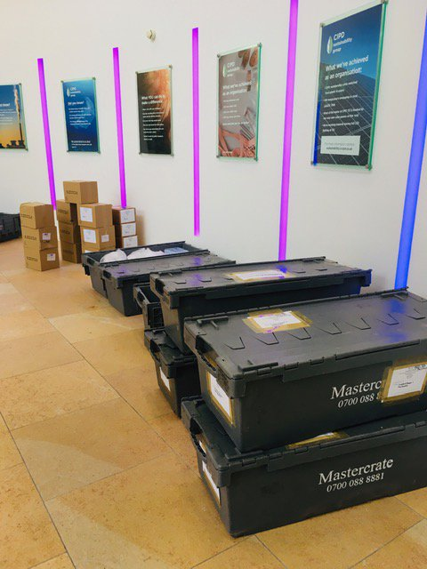 Guess where these crates are heading? @mcr_central here we come! Only 5️⃣ sleeps till #cipdACE, 6-7 Nov! The exhibition is free; sign up online to avoid queuing on the day! Join us at our Annual Conference and Exhibition 🙌💜 #peopleprofessionals https://t.co/5mqakyuMkT https://t.co/Vv5KBSUmLG