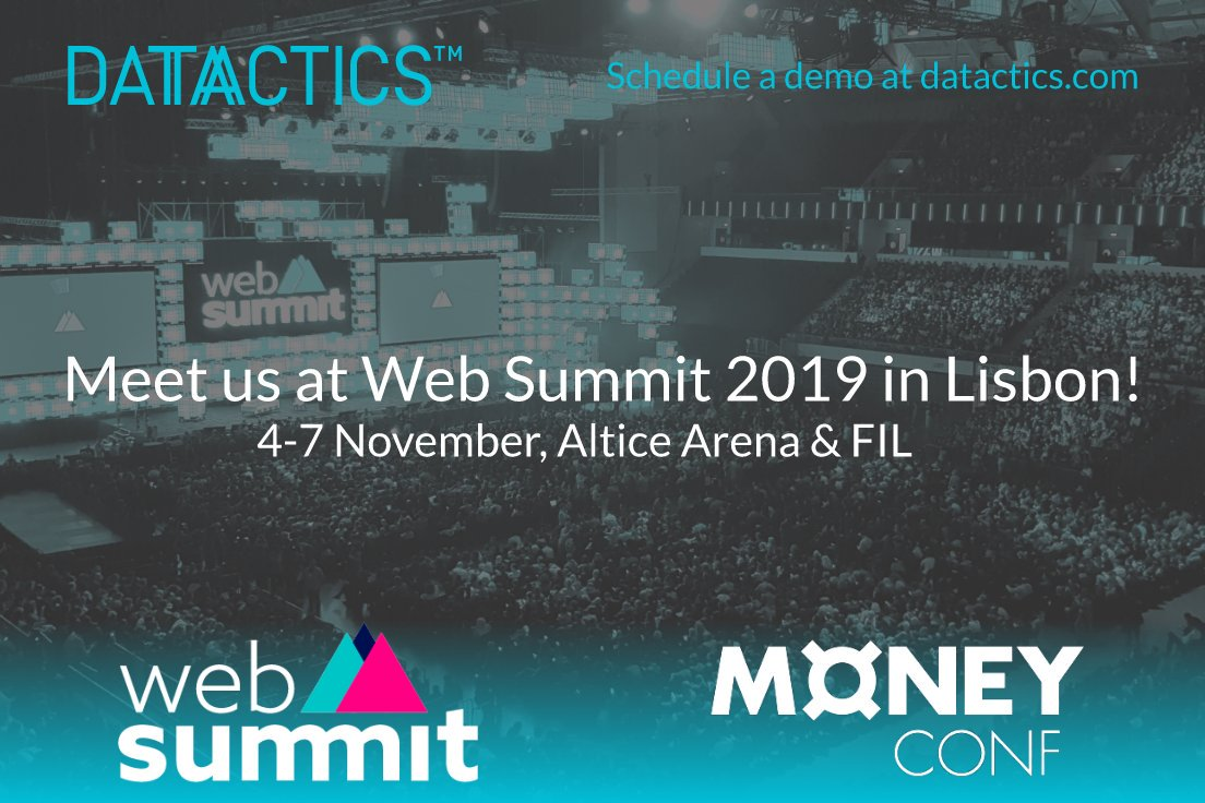 #HappyFriday everyone and here we go again   We're all set for @WebSummit @MoneyConfHQ next week in #Lisbon  the world's largest #Tech event   Let's chat about #AllThingsData #Fintech  Info@Datactics.com  #DatacticsAroundTheWorld #RegTech #FridayThoughts @FintechUKPR<br>http://pic.twitter.com/CXUa6ihR4Y