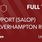Image for the Tweet beginning: FULL TIME: Newport (Salop) RUFC