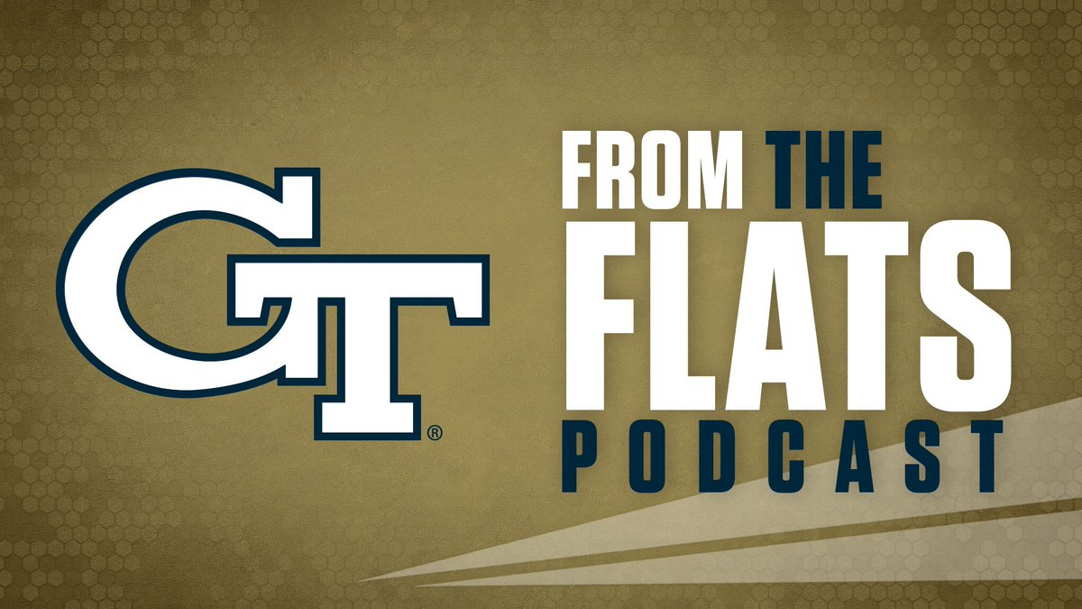 Start your Friday with the latest edition of #FromTheFlats podcast featuring: 🏈 #PITTvsGT preview 🏀 @GTMBB assistant coach @CoachReveno 🏀 @GTWBB assistant coach @CoachBManning 🎧 buzz.gt/FromFlats-38