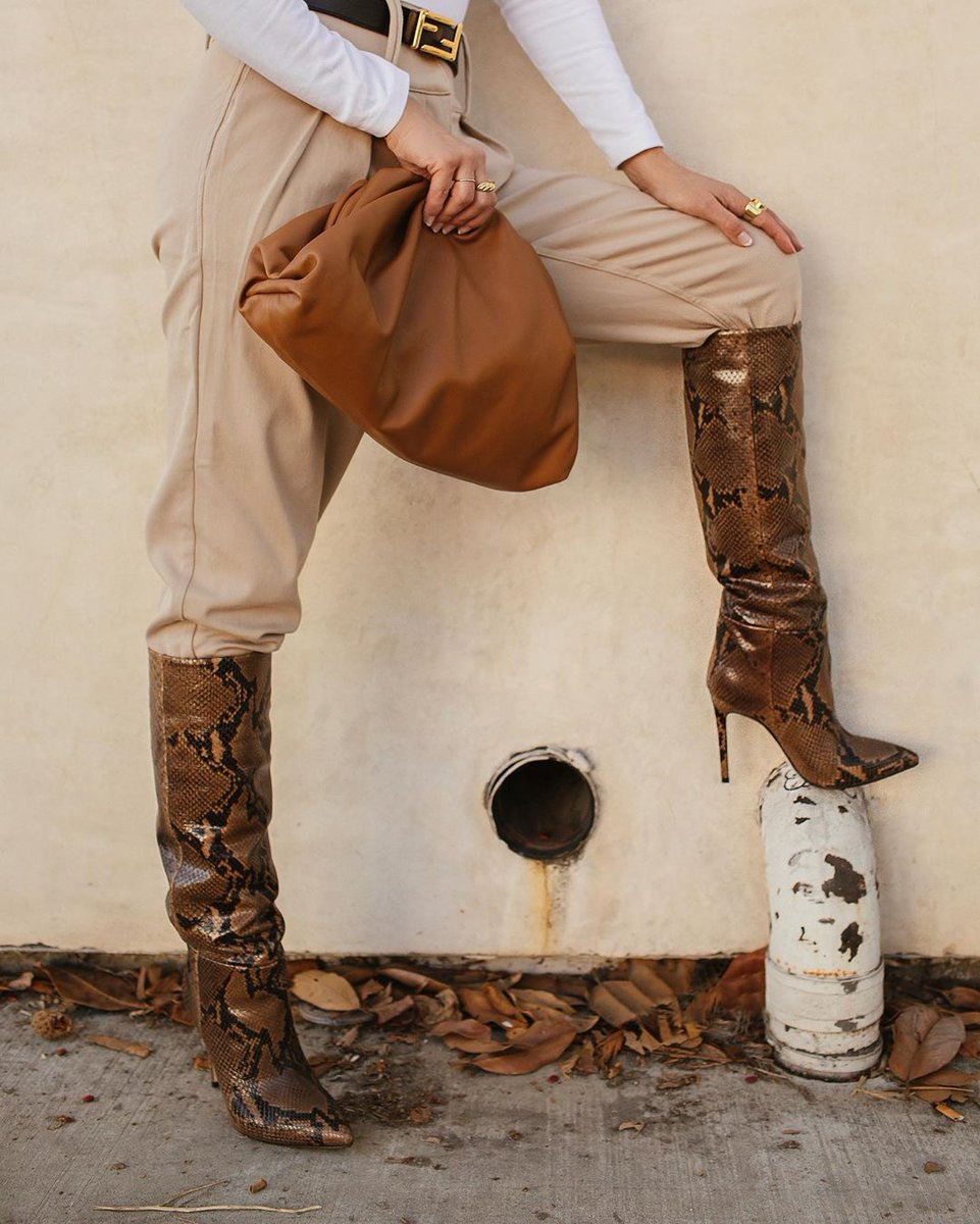 Jimmy Choo to these #ParisTexas Boots