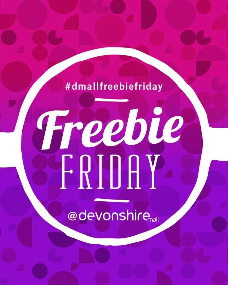 Retweet, like or comment to win using #dmallfreebiefriday Triple your chances of winning by entering on Instagram and Facebook. Winner picked at 3pm GO! #devonshirestyle #goshopping #tgif #playtowin #fridayfeeling #yqg