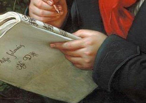 肖像画 楽譜 ベートーベン