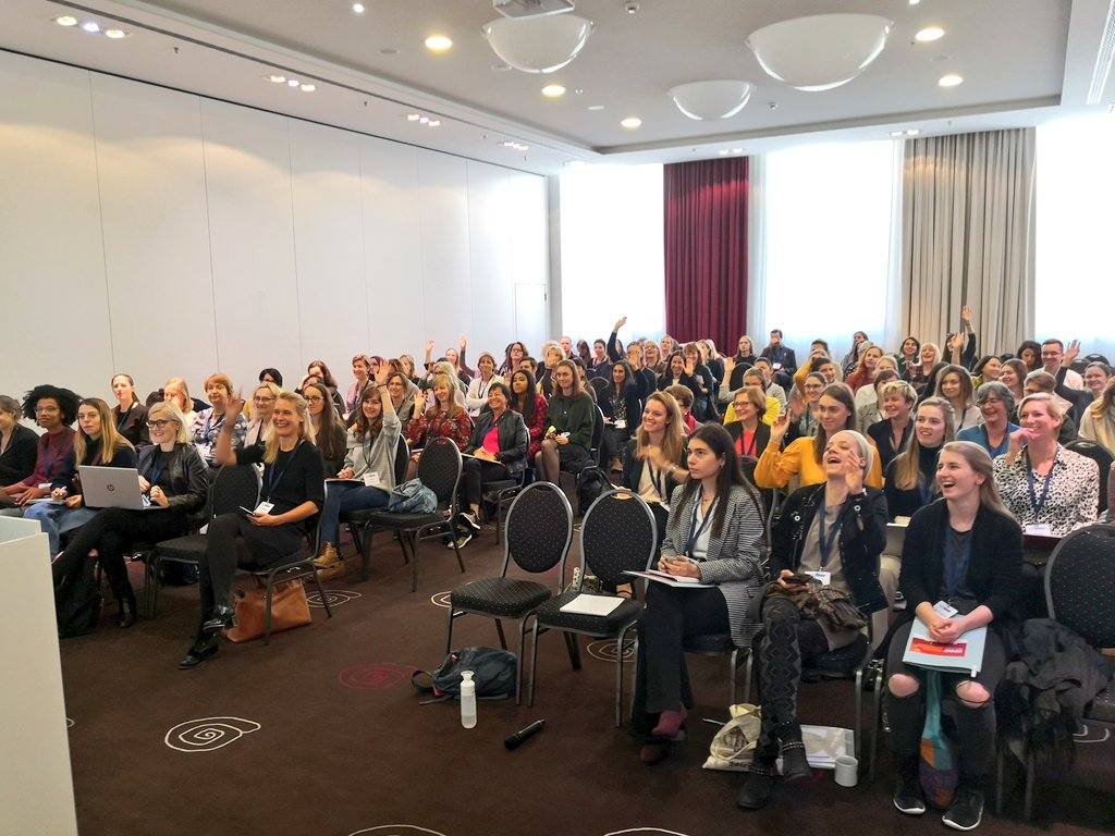 Nudging session was a big success becuse more nudgers have been created today! #EFAD2019