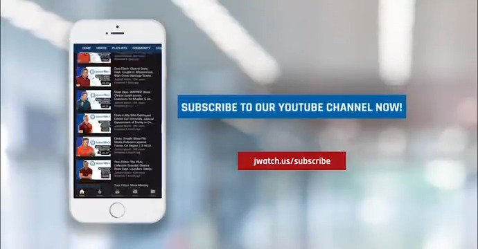 Dont want to miss out on NEW videos and updates from JW? Then subscribe NOW to our YouTube channel at jwatch.us/subscribe