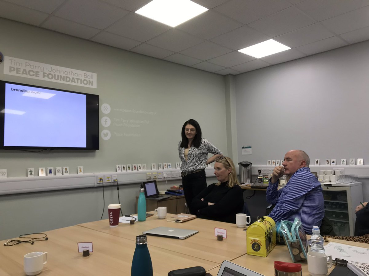 Wonderful @NicolaGrossman taking @DoWell_uk band through new branding ideas. #excitingtimes If you're looking for design work you could do a lot worse than engaging this fab woman 👍🏻
