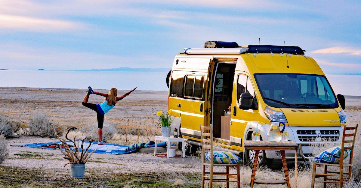 Working remotely while enjoying life on the road tends to be a balancing act. See how this couple finds their harmony when they #GoRVing. po.st/Tlq8Sx