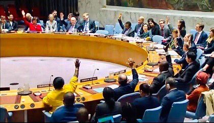 Yesterday, the Security Council unanimously approved resolution 2495 / 2019.⠀⠀ ⠀⠀ This resolution renews the mandate of #UNAMIDNews for 12 months, with the expectation of supporting #Sudan 🇸🇩 in the process of transition from maintenance to reconstruction in La Paz. #Dafur https://t.co/ValaotqbqR