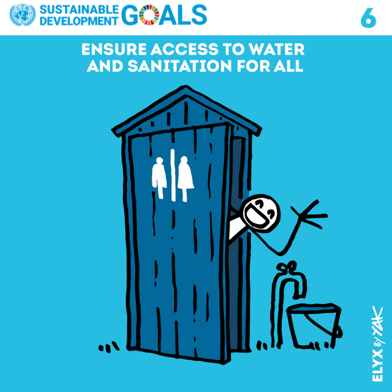 By 2030, we will achieve access to adequate and equitable sanitation and hygiene for all, paying special attention to the needs of women and girls and those in vulnerable situations. Heres how well do it: un.org/sustainabledev… #GlobalGoals