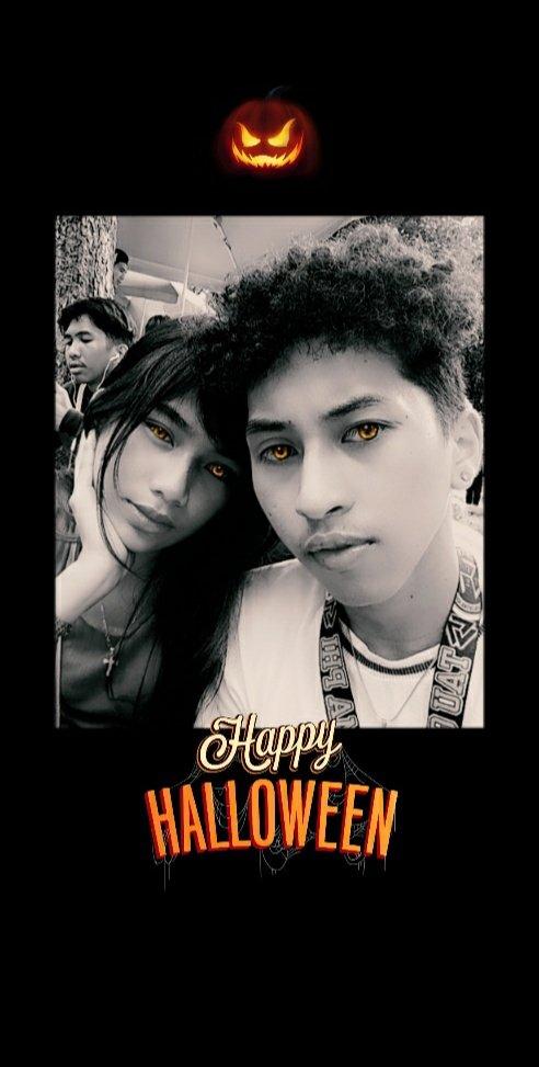 Yung kasama mo yung taong nagpapasaya sayo sa pagdalaw sa mga Mahal mo sa buhay 💞 #UndasWithHer💝 #HappyHalloween