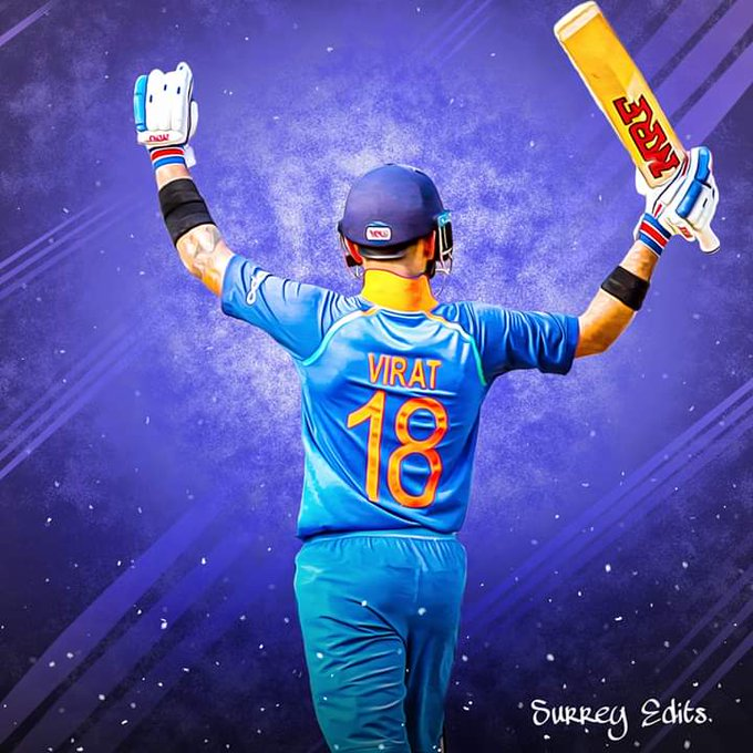 Happy birthday the king kohli,chiku,chase master,I watch this time is Virat kohli Era.