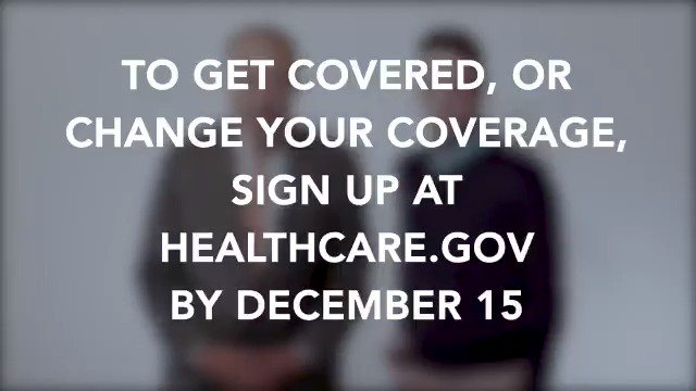 WATCH: I made this video with 17 @SenateDems because they want YOU to #GetCovered  ACA 2020 Open Enrollment begins today:  November 1 through December 15 at   Don't take it from me, let these Senators tell you themselves!💜⬇️