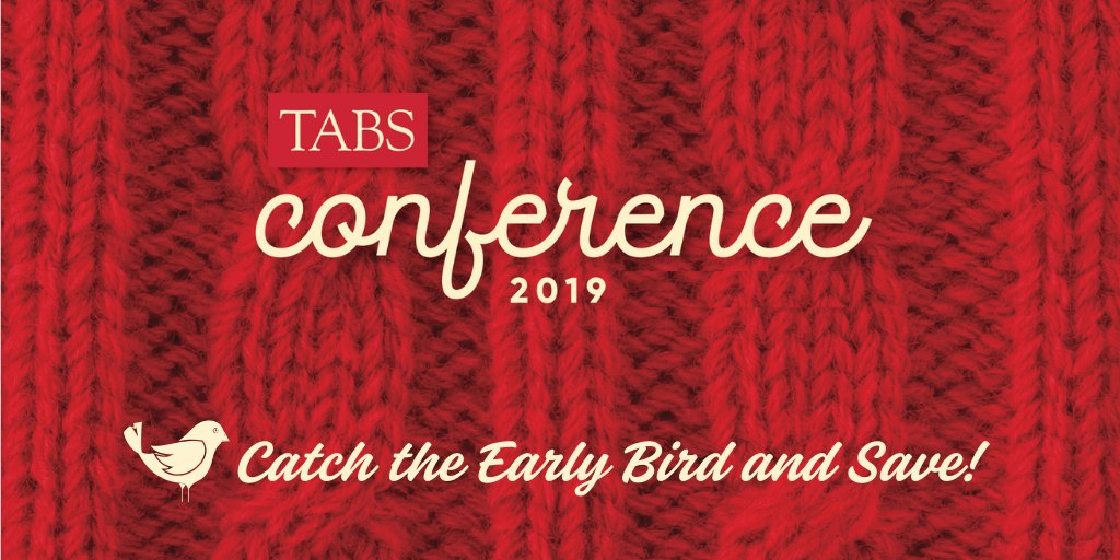 Register for TABS Annual Conference in Boston to secure accommodations AND save! 💸 tabsconference.org/registration/