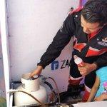 Image for the Tweet beginning: Protección Civil Capital revisa instalaciones