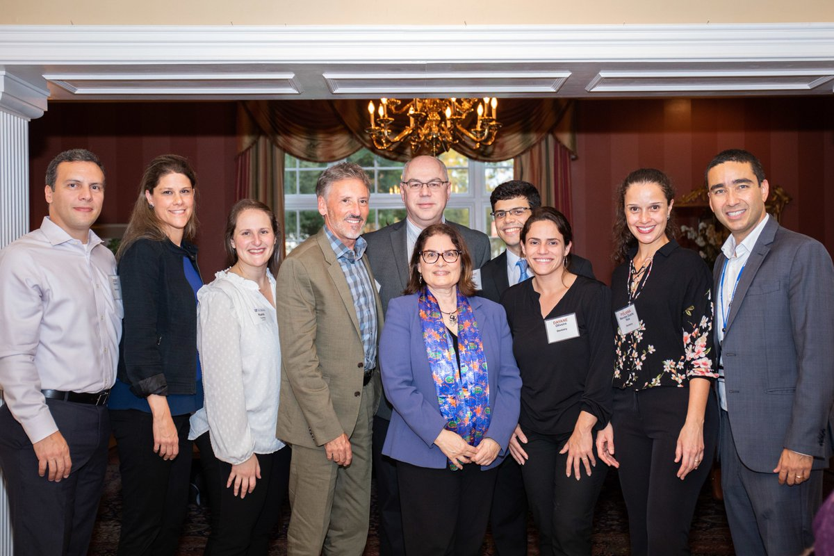 Welcome to #GatorNation!  What a great photo of several new #GatorDentist faculty alongside Dr. Garcia at @UF's New Faculty Welcome Reception at the Powell University House last week.  #GoGators #UFCD <br>http://pic.twitter.com/oZ1yeA2BeG