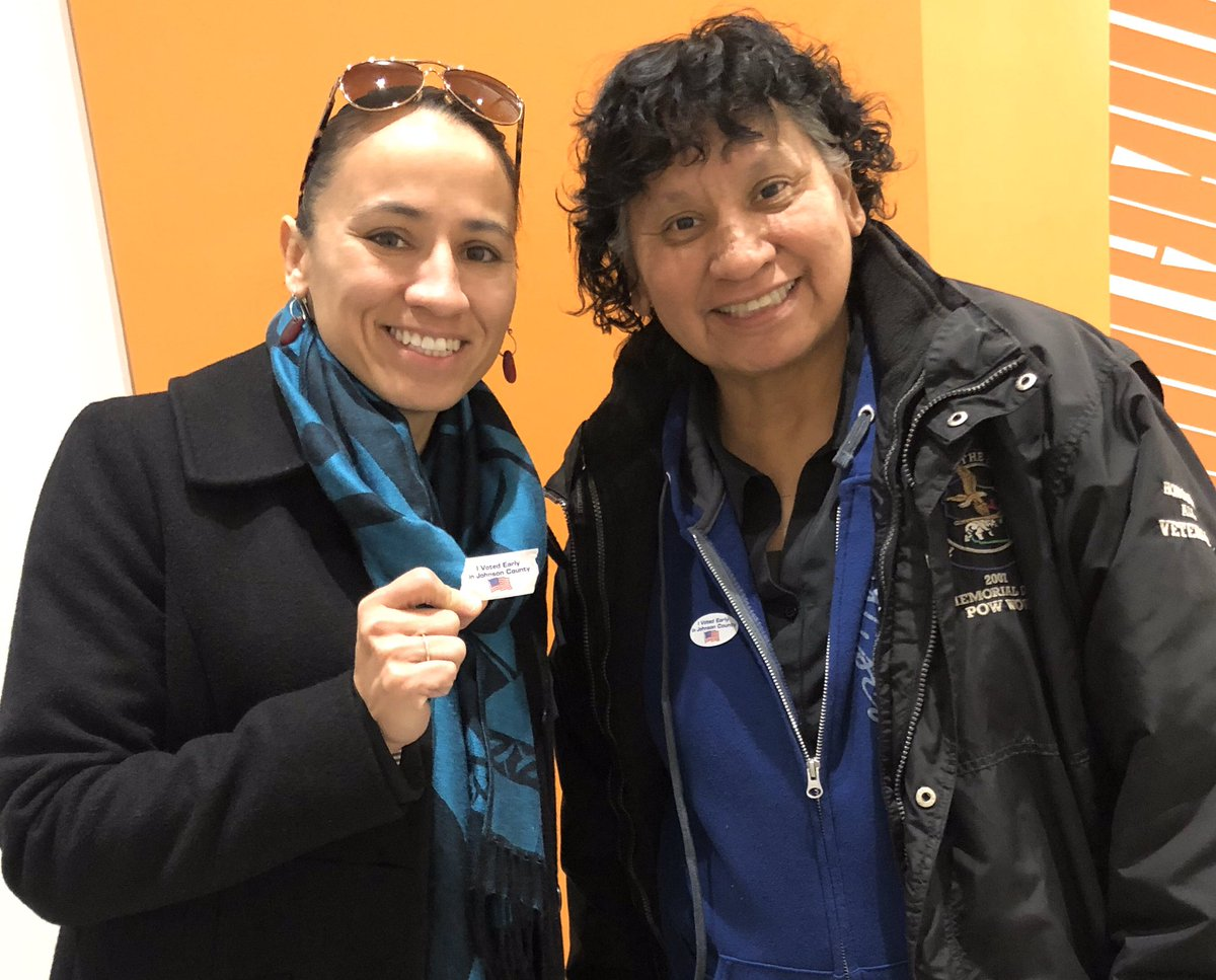 Voting is more fun with friends (and your mom)! Grab a buddy and cast your ballot on or before Tuesday, Nov. 5!