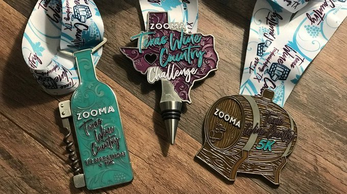 Happy running and have fun those running @ZOOMArun  Texas Wine Country series this weekend!  https:// zoomarun.com/race/texas-win e-country-half-marathon  …  #ZOOMABR #BibChat #BibRavePro<br>http://pic.twitter.com/NmftnojUo2