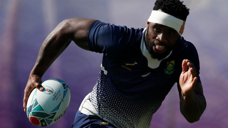South Africa set to take on England in Rugby World Cup final