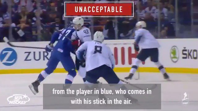 A player making a late check is not focused on gaining puck possession. Plays like this in youth hockey are unacceptable and will be penalized. Learn more about the Declaration of Player Safety, Fair Play & Respect here → usahockey.com/declaration