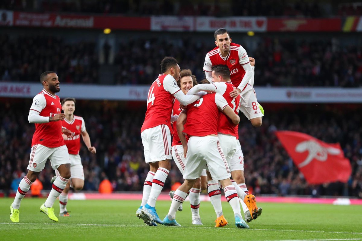 Together we can do it! 🔴⚪️ @Arsenal #S5 #ARSWOL #PremierLeague