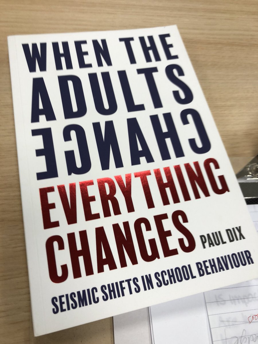 Thank you @Paula_Whylie for this book recommendation. Interesting concepts, not just for schools..... patents & carers too. @DoWell_uk #kindness #leadership