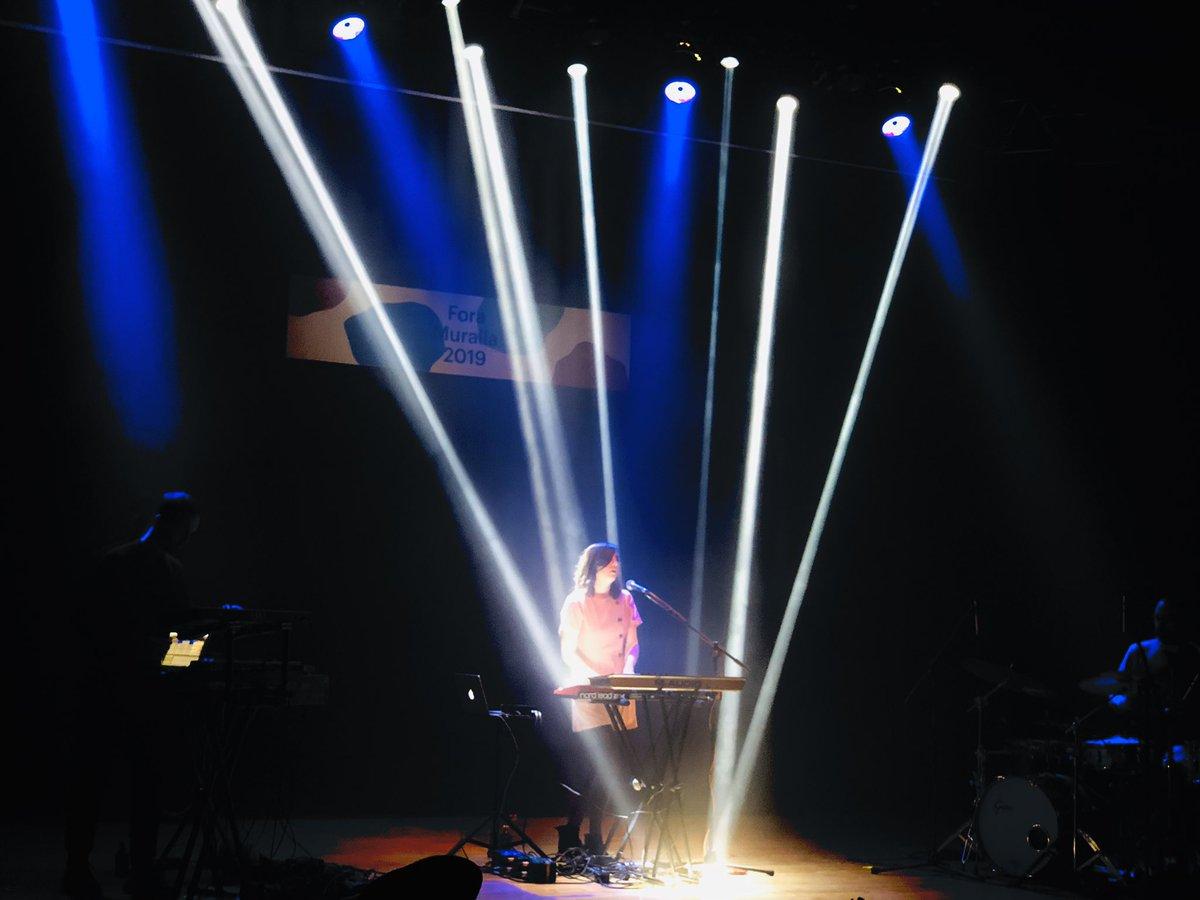 Gran concert al @Foramuralla de @carla__music https://t.co/AOKc5so8f0